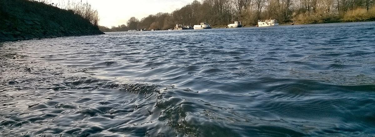 The non-tidal Thames near Richmond